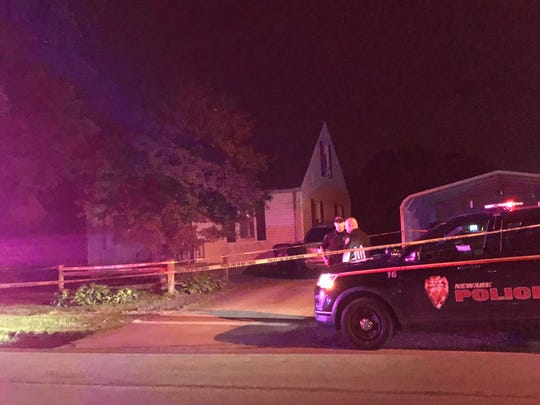 Newark police are investigating a fatal shooting in the 1000 block of Ridgelawn Avenue. Police say an arrest has been made.