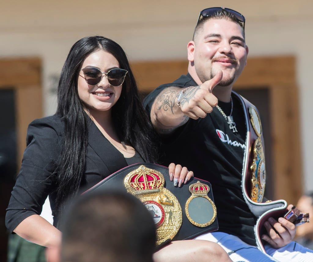 FREE SHIPPING Andy Ruiz World Heavy Weight Champion T Shirt