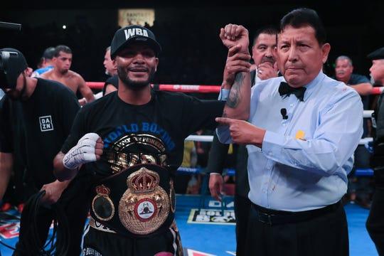 Andrew Cancio wins his first world championship defense, against Alberto Machado, on Friday, June 21, 2019 at Fantasy Springs Resort Casino.