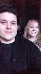 Wade Cota and his mother, Terri Cota, in 2017.