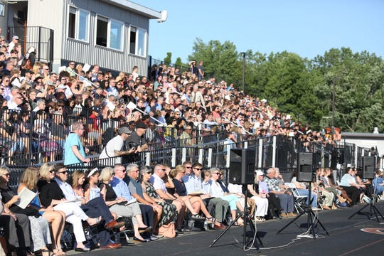 Scenes from Marlboro High School's 83rd commencement ceremony