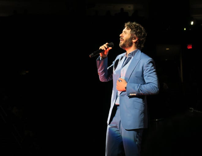 Vocalist Josh Groban performed for a packed house Friday, June 21, at the Giant Center in Hershey. His latest album, Bridges, is available now.