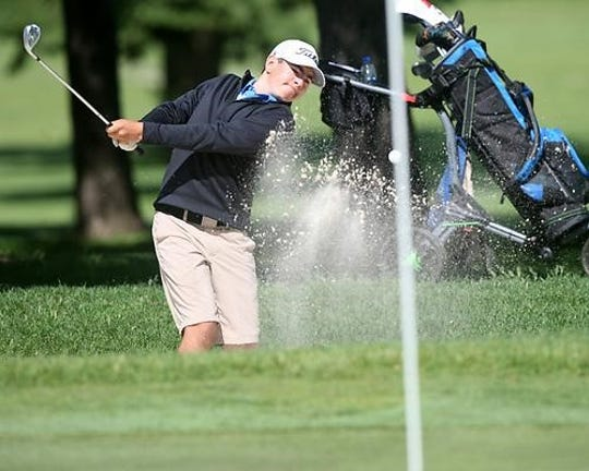 Sartell sophomore Logan Hamak was the top golfer in the Central Lakes Conference and Section 8-3A while taking third in the state Class 3A tournament.