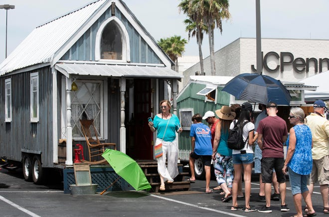 The Tiny Home Expo was held on Saturday, June 22, 2019, at the Indian River Mall in Vero Beach. There were tours of tiny homes, home builders and skoolies, which are bus conversions. The event also had food trucks, vendors inside and outside the mall, childrenÕs activities and live music.