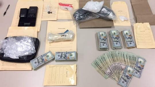 These are among the items seized when  Pablo Serrano was arrested in Oxnard, authorities said.