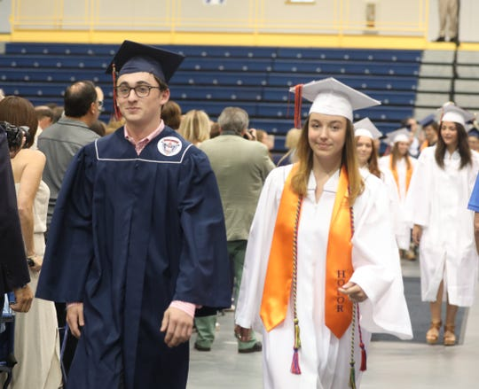 The Briarcliff High School graduation was held at Pace University in Pleasantville June 21, 2019.