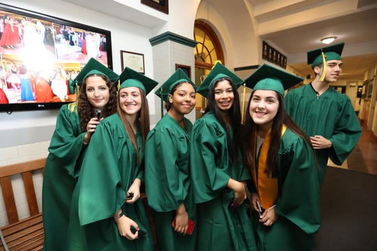Hastings High School graduation June 22, 2019.
