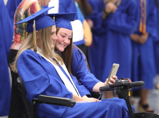 Walter Panas High School holds their graduation ceremony at the Westchester County Center in White Plains on Saturday, June 22, 2019.