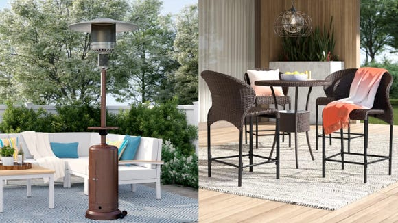 This might be your last chance to save on patio furniture before you start having people over.