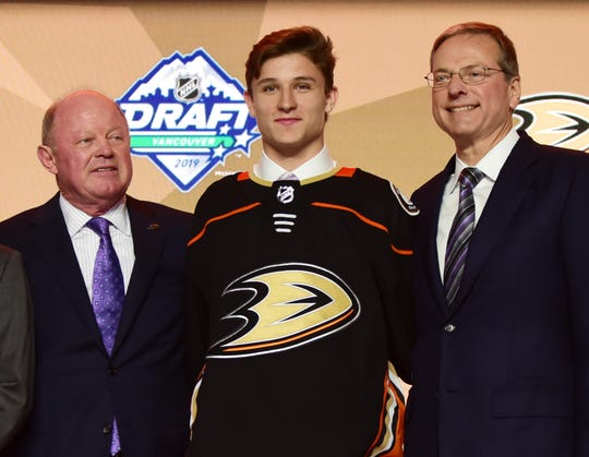 No. 9: Center Trevor Zegras, Anaheim Ducks.