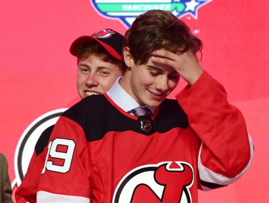 Jack Hughes went No. 1 to the New Jersey Devils in Friday's NHL draft.