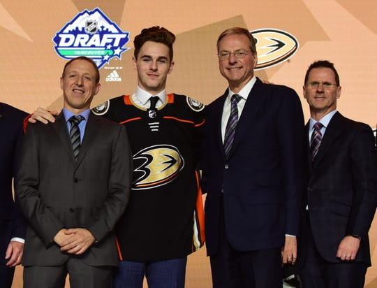 No. 29: Left wing Brayden Tracey, Anaheim Ducks.