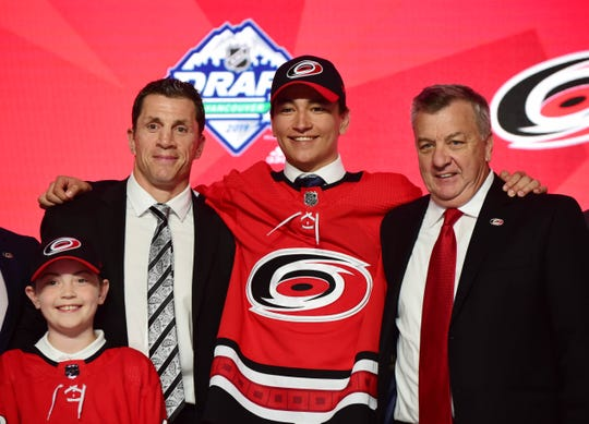 No. 28: Center Ryan Suzuki, Carolina Hurricanes.