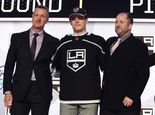 No. 5: Alex Turcotte, Los Angeles Kings.