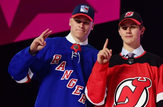 Kaapo Kakko (No. 2) and Jack Hughes (No. 1) will become instant rivals.
