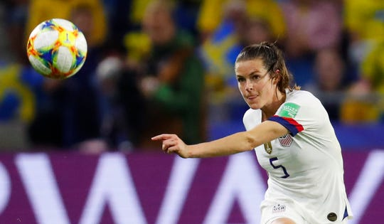 Kelley O'Hara says the U.S. team is focusing only on the opponent in front of them.