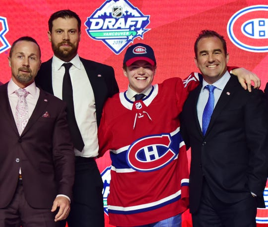 No. 15: Right wing Cole Caufield, Montreal Canadiens.