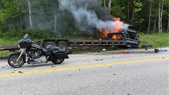 Trucker charged with 7 counts of negligent homicide in crash that killed motorcyclists