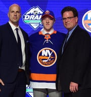 No. 23: Right wing Simon Holmstrom, New York Islanders.
