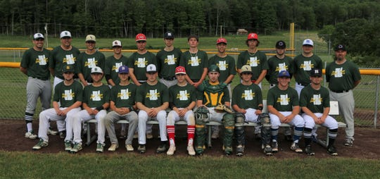 The Vermont team poses for a photo for the 2019 Twin State Baseball Classic.