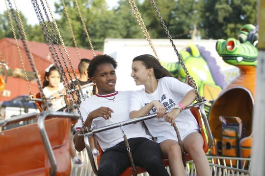 Hundreds came out to Clarksville Speedway on Saturday, June 22, 2019 for an evening of fun at the Montgomery County Fair.