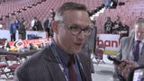 Steve Yzerman discusses the team's picks and the process of his first draft as general manager of the Detroit Red Wings on Saturday.