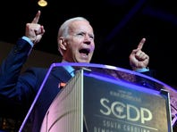 Joe Biden goes on offensive against Donald Trump in speech at SC Democratic convention