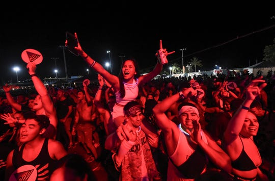 Crowds flocked to the Electric Island Festival's seventh year at Guerrero Field in Hagåtña June 22.