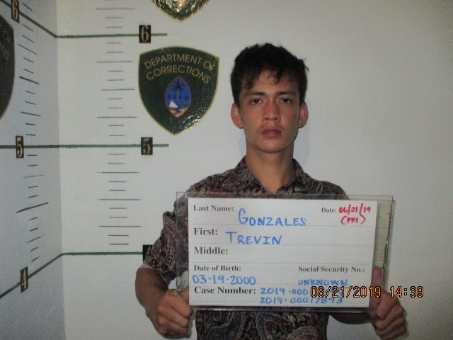 Trevin Gonzales, 19, is charged with possession of a controlled substance as a third degree felony, according to the complaint.