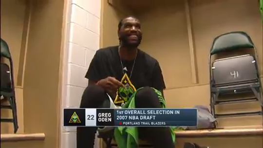 Greg Oden reflects on journey back to basketball with Big 3, find new perspective