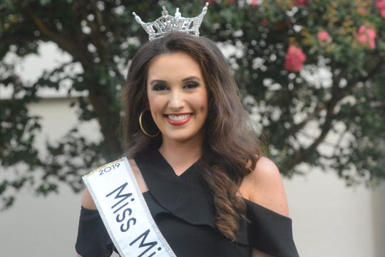 Miss Mississippi Mary Margaret Hyer, in an interview in Vicksburg on Sunday, June 23, 2019, talks about winning the title Saturday night. She said her grandmother had predicted her crowning years earlier.