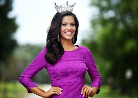 Miss Tennessee Volunteer 2019 Kerri Arnold was the 67th woman crowned at the Carl Perkins Civic Center in Jackson.