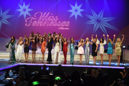 Top 15 contestants have been announced at the Miss Tennessee Volunteer Scholarship Pageant.