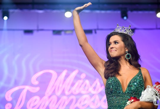 Kerri Arnold was crowned Miss Tennessee 2019, Saturday, June 22 at the Carl Perkins Civic Center.