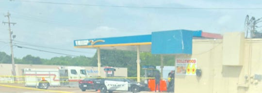 Police responded to a Valero gas station on Hollywood Drive and Old Hickory Boulevard around 10 a.m. Sunday morning on June 23 in Jackson, Tenn.