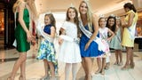 Miss Tennessee Scholarship Competition candidates meet fans and sign autographs at West Town Mall during the TriStar Princess pageant on Sunday, June 23, 2019.