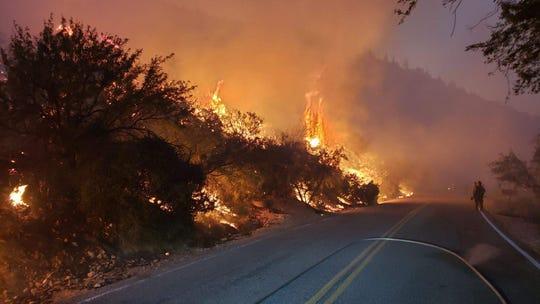 El incendio no ha afectado estructuras importantes, según autoridades.