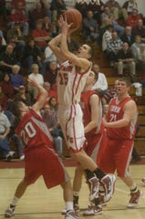 Ryan Hicks continued his basketball career at Defiance College after Port Clinton.