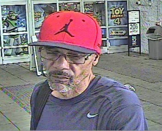 Springettsbury Township Police are looking for the identity of this man, suspected of theft at the Walmart.