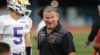 Greg Grandell, West Valley coach and honorary coach of the North 11-man team reflects on the 2019 Lions All-Star Football Game at Chico High on June 22.