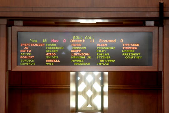 11 Oregon Republican senators have vanished, possibly having fled the state. Now 100 pieces of legislation are at risk of dying