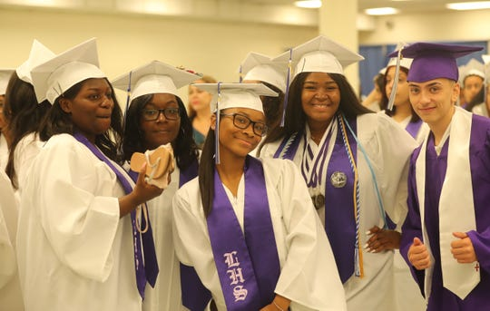 The Lincoln High School graduation was held at the Westchester County Center in White Plains June 23, 2019.