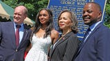 Community members joined state Sen. Darius Brown, rising senior Savannah Shepherd and members of the Delaware Legislative Black Caucus to memorialize the only documented lynching in the First State.