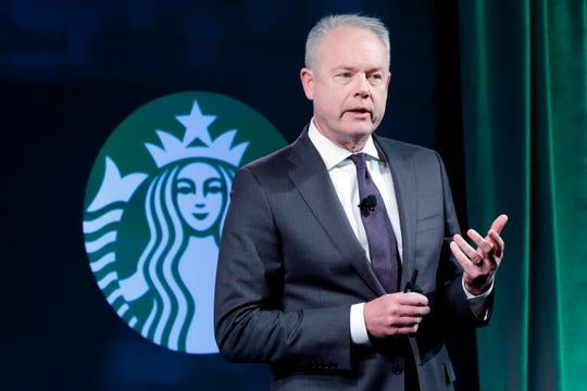 Kevin Johnson, CEO von Starbucks, hat sein Talent für Innovation von der Technologie zum Kaffee gelegt.