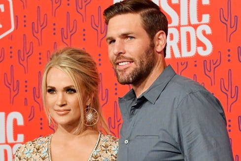 The 5-month-old son of Carrie Underwood and Mike Fisher prefers the seasoned voice of his mom over his dad, clearly.