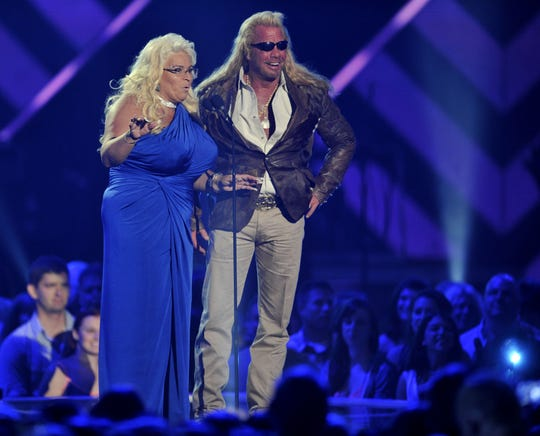 "Duane ""Dog"" and Beth Chapman present during the 2013 CMT Music Awards at Bridgestone Arena Wednesday, June 5, 2013 in Nashville, TN. (Via OlyDrop)"