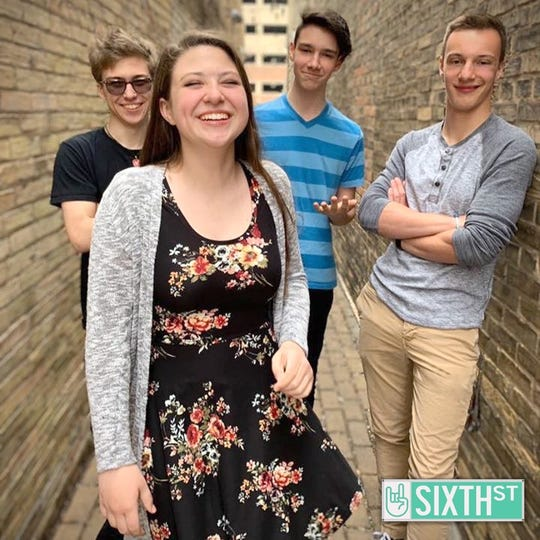 Sixth Street, a band of students from St. Mary Catholic High School in Neenah, will play the Johnson Controls World Sound Stage at Summerfest in Milwaukee on Friday.