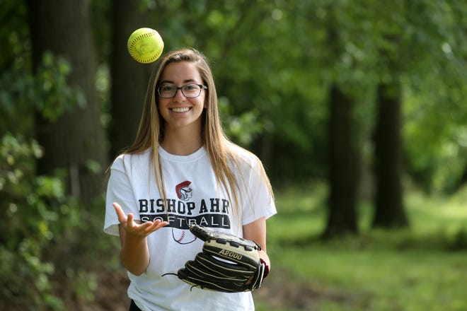 Bishop Ahr pitcher Alyssa DeJianne is the 2019 Home News Tribune All-Area Softball Player of the Year.