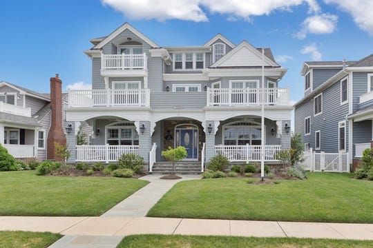 One of a kind custom built colonial with spectacular ocean views is at 19 Lincoln Ave in Avon By The Sea.