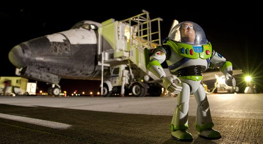Human ashes, Buzz Lightyear and a sandwich: Strange things we sent into space